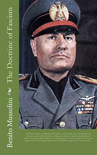9781682040058: The Doctrine of Fascism