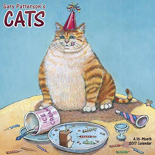 Gary Patterson?s Cats Wall Calendar (2017)