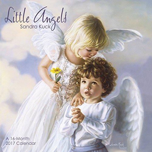 9781682090909: Sandra Kuck - Little Angels Wall Calendar (2017)
