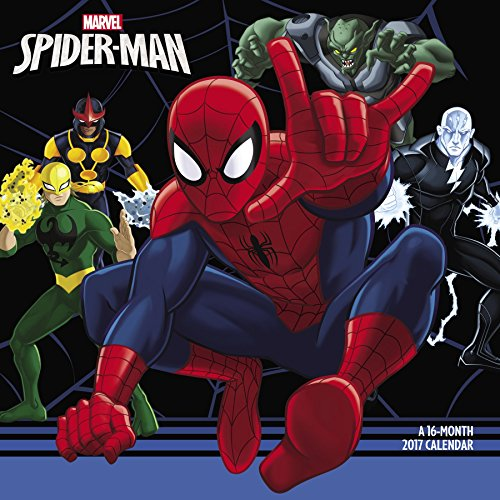 9781682093269: Ultimate Spider-Man Wall Calendar (2017)