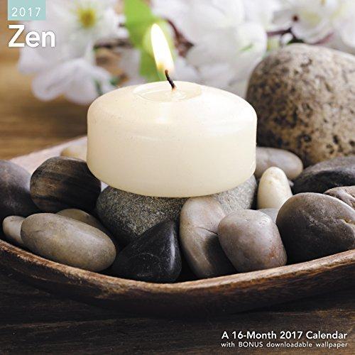 9781682093313: Zen Wall Calendar (2017)