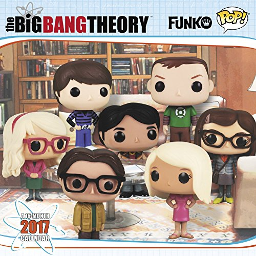 FUNKO Big Bang Theory Wall Calendar (2017)
