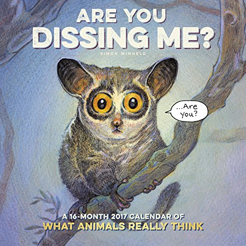 9781682094150: Are You Dissing Me Wall Calendar (2017)