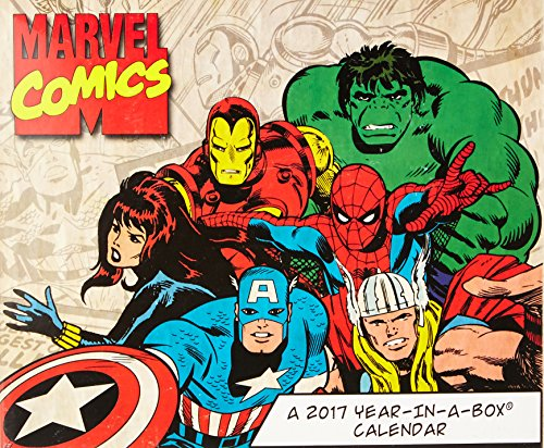 9781682095775: Marvel Comics 2017 Calendar