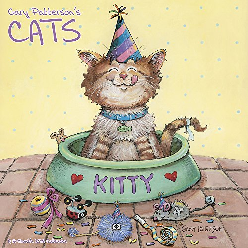 2018 Gary Patterson?s Cats Wall Calendar (Mead)