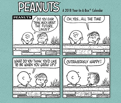 2018 Peanuts Calendar (Year-In-A-Box): Year-in-A-Box