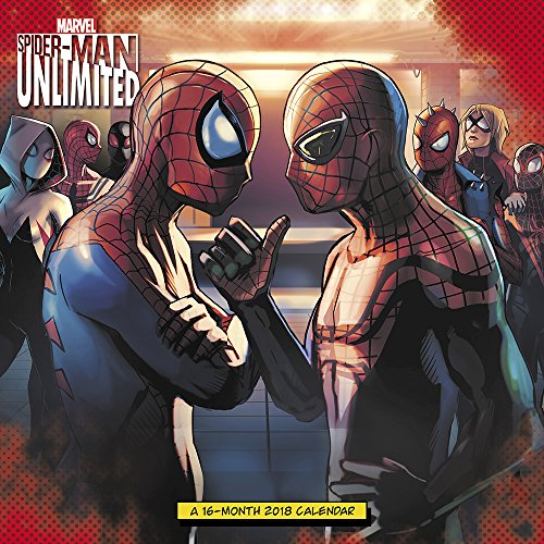 2018 Spider-Man Unlimited Wall Calendar (Day Dream)