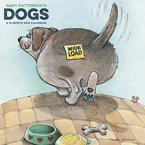 2018 Gary Patterson?s Dogs Wall Calendar (Mead)