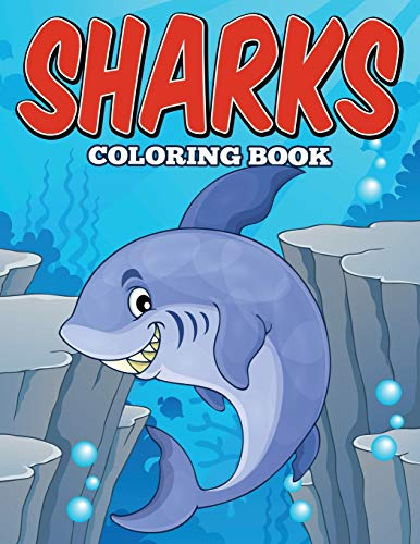 9781682121214: Sharks Coloring Book