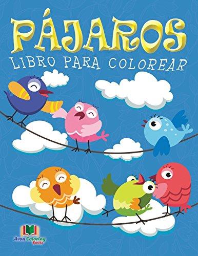 9781682122693: Pajaros Libro Para Colorear