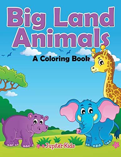 9781682129463: Big Land Animals (A Coloring Book)