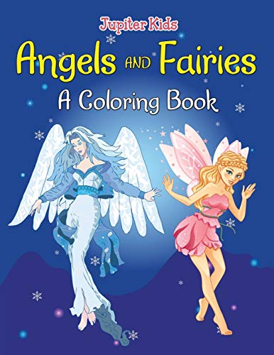 9781682129623: Angels and Fairies (A Coloring Book)