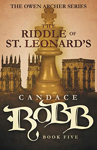9781682301050: The Riddle of St. Leonard's: The Owen Archer Series - Book Five
