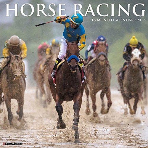 9781682341162: Horse Racing 2017 Wall Calendar