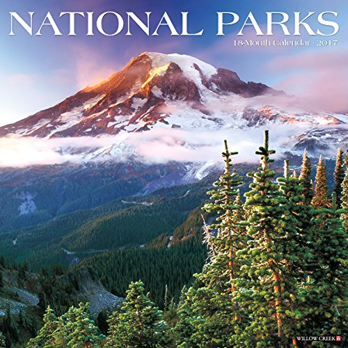 9781682341520: National Parks 2017 Wall Calendar