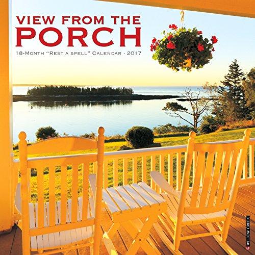 9781682341711: Porch View 2017 Wall Calendar