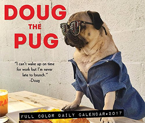 9781682343357: Doug the Pug 2017 Box Calendar