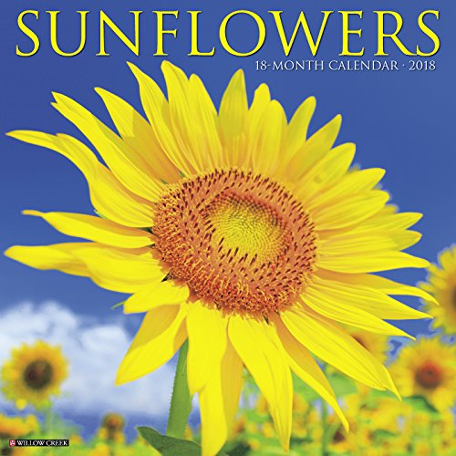 Sunflowers 2018 Wall Calendar