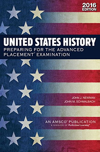 9781682404553: United States History: Preparing for the Advanced Placement Examination (2016 Exam) - Student Edition Softcover