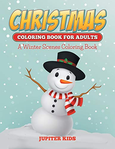 9781682600306: Christmas Coloring Books For Adults: A Winter Scenes Coloring Book