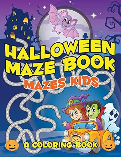 9781682602676: Halloween Maze Book: Mazes Kids