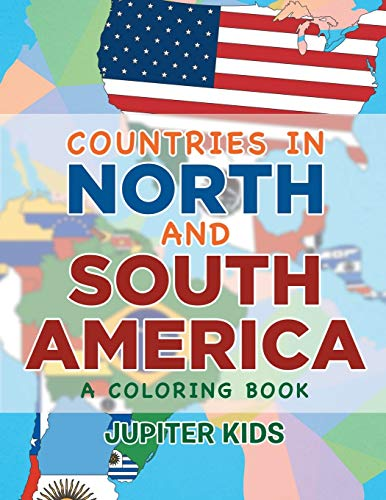 9781682602836: Countries in North and South America (A Coloring Book)
