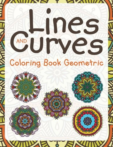 9781682604304: Lines and Curves: Coloring Book Geometric