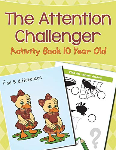 9781682604380: The Attention Challenger: Activity Book 10 Year Old