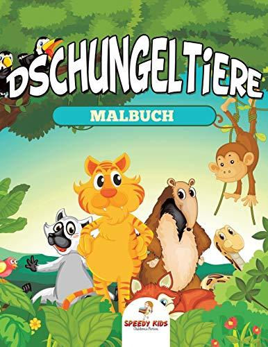 9781682605691: Dschungeltiere Malbuch
