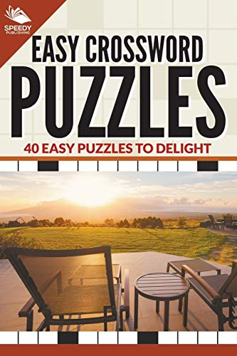 9781682609170: Easy Crossword Puzzles: 40 Easy Puzzles To Delight