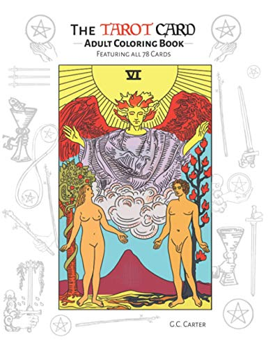9781682612644: The Tarot Card Adult Coloring Book: Featuring All 78 Cards