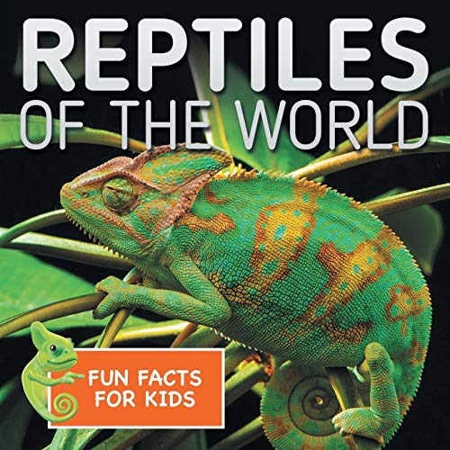 Reptiles of the World Fun Facts for Kids: Baby Professor