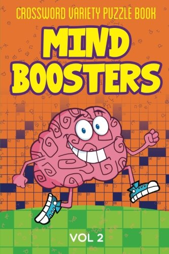 Crossword Variety Puzzle Book: Mind Boosters Vol 2: Speedy Publishing LLC