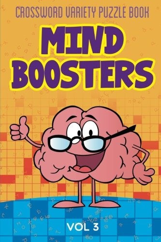 9781682801291: Crossword Variety Puzzle Book: Mind Boosters Vol 3