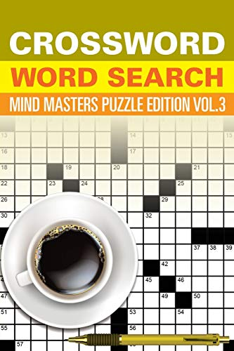 9781682801604: Crossword Word Search: Mind Masters Puzzle Edition Vol. 3
