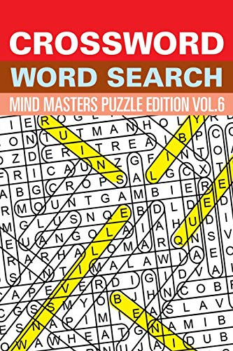 9781682801628: Crossword Word Search: Mind Masters Puzzle Edition Vol. 6