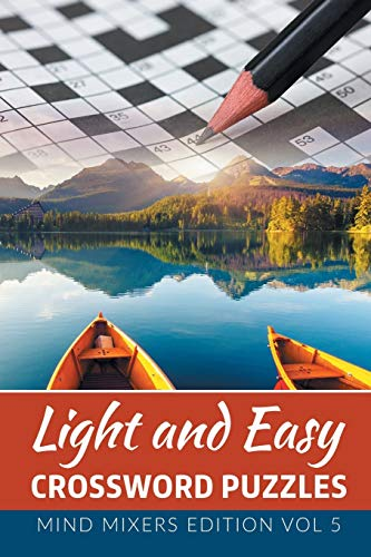 9781682801994: Light and Easy Cossword Puzzles: Mind Mixers Edition Vol 5