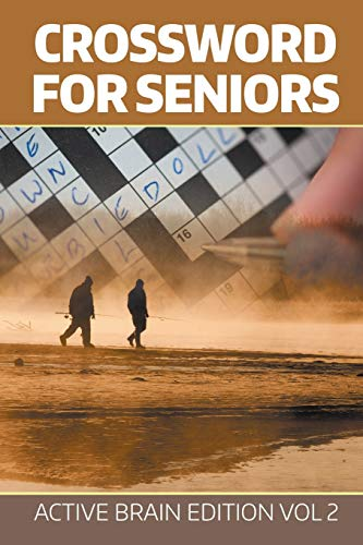 9781682802519: Crossword For Seniors: Active Brain Edition Vol 2