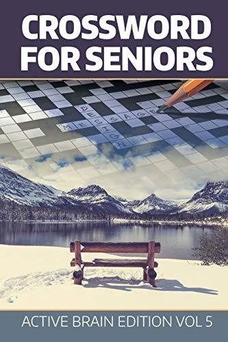 9781682802540: Crossword For Seniors: Active Brain Edition Vol 5