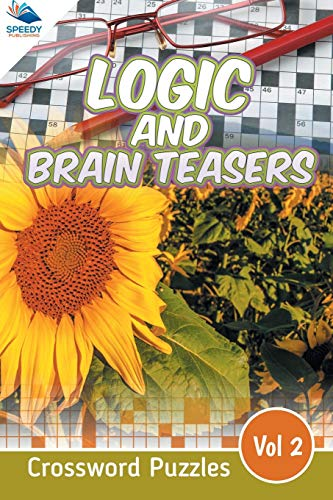9781682803844: Logic and Brain Teasers Crossword Puzzles Vol 2