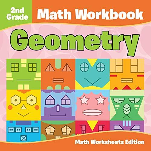 9781682807828: 2nd Grade Math Workbook: Geometry | Math Worksheets Edition