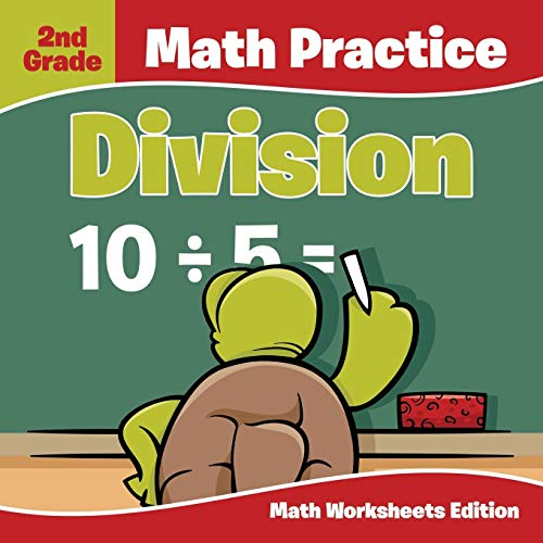 9781682807880: 2nd Grade Math Practice: Division | Math Worksheets Edition