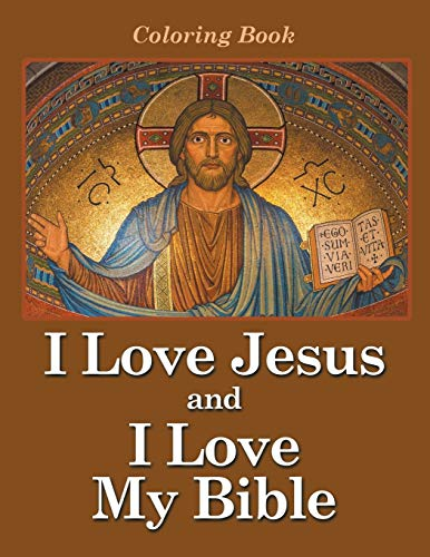 9781682809792: I Love Jesus and I Love My Bible: Coloring Book