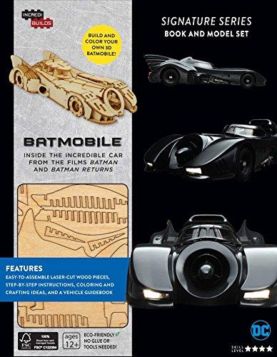 9781682980163: IncrediBuilds: Batmobile Signature Series Book and Model Set