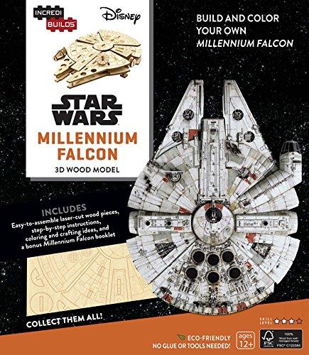 IncrediBuilds: Star Wars: Millennium Falcon 3D Wood Model: Kogge, Michael