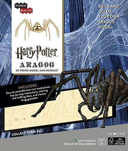 9781682980378: Incredibuilds. Harry Potter. Aragog 3D Wood Model