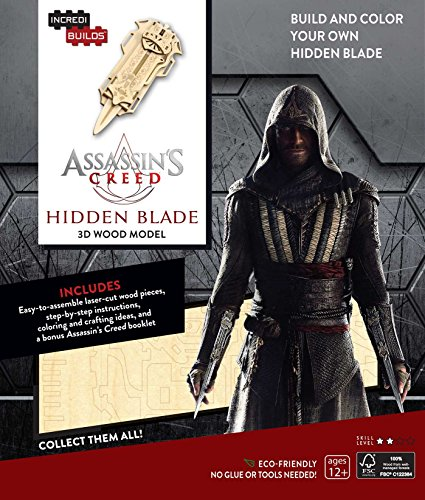 9781682980385: IncrediBuilds: Assassin's Creed 3D Wood Model