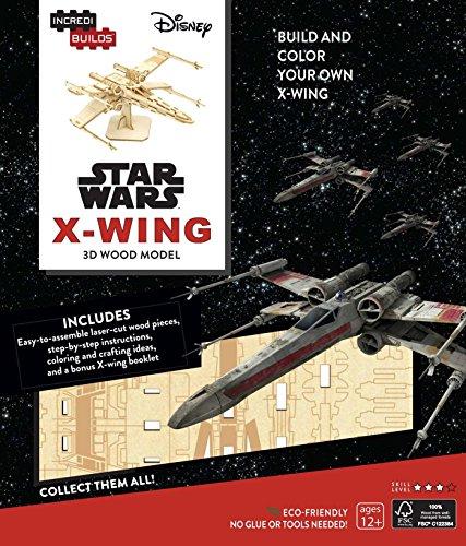 9781682980651: Incredibuilds. Star Wars. X-Wing. 3D Wood Model