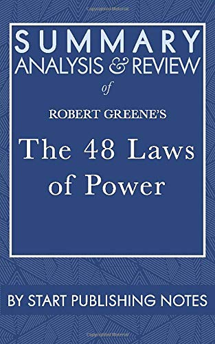 Summary, Analysis, and Review of Robert Greene's: Start Publishing Notes