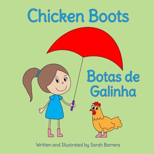 9781683040385: Chicken Boots: Botas de Galinha : Babl Children's Books in Portuguese and English